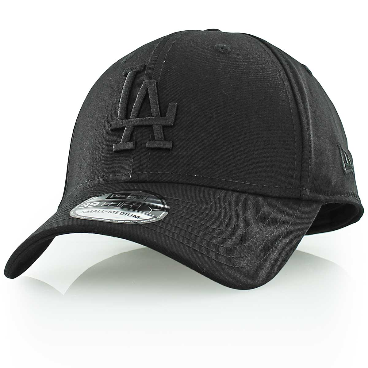 Šiltovka New Era 3930 Los Angeles Dodgers MLB Black on Black