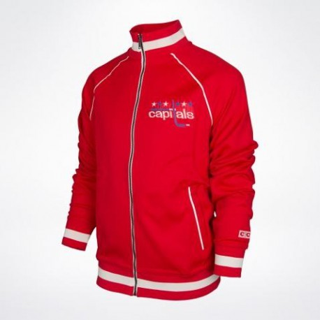 Mikina CCM Track Jacket Washington Capitals Senior