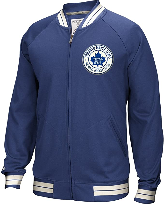 Mikina CCM Track Jacket Toronto Maple Leafs Senior