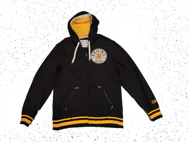 Mikina CCM FZ Hoody Boston Bruins Senior