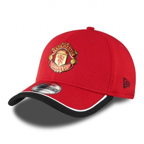 Šiltovka New Era 3930 Caddy Lm Manchester United Red Black
