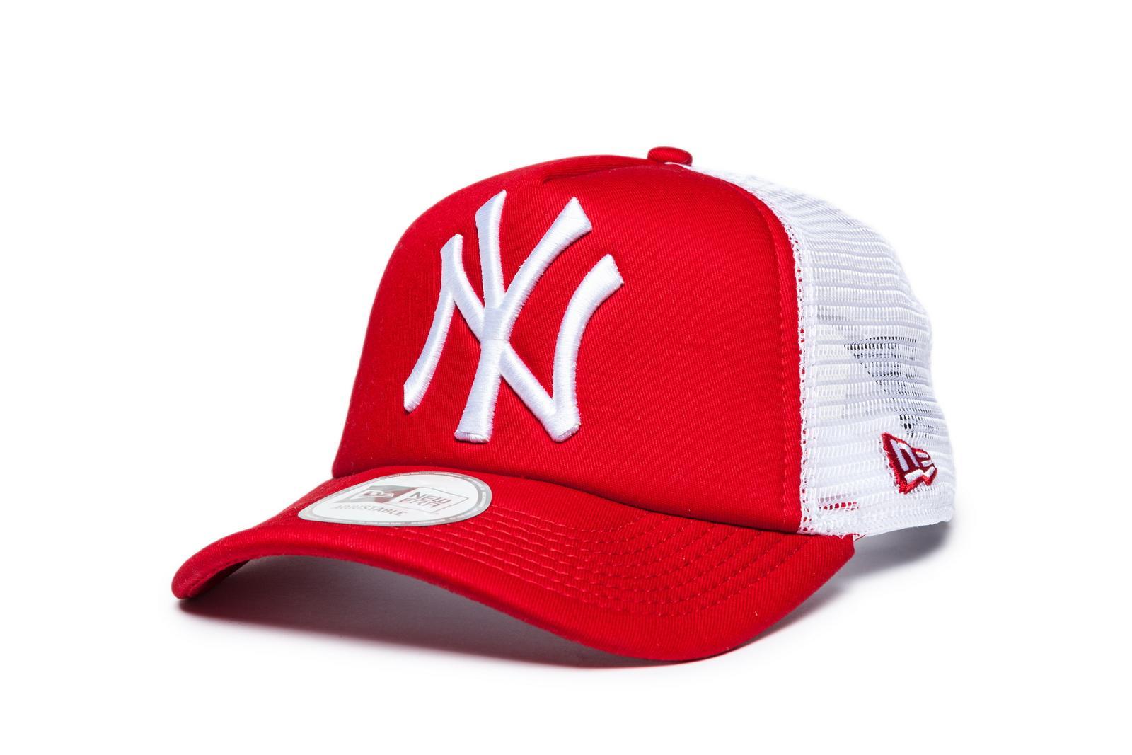 5161fa0d7 ŠILTOVKY NEW ERA | Šiltovka New Era Trucker New York Yenkees Red ...